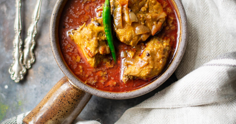 Easy Indian Fish Curry