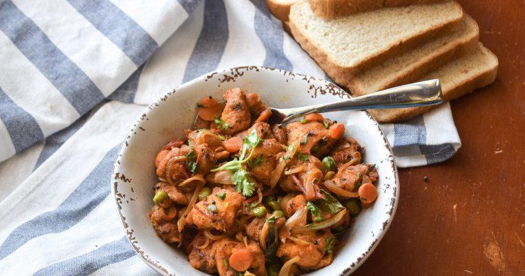 Bread upma recipe { recipe video included}