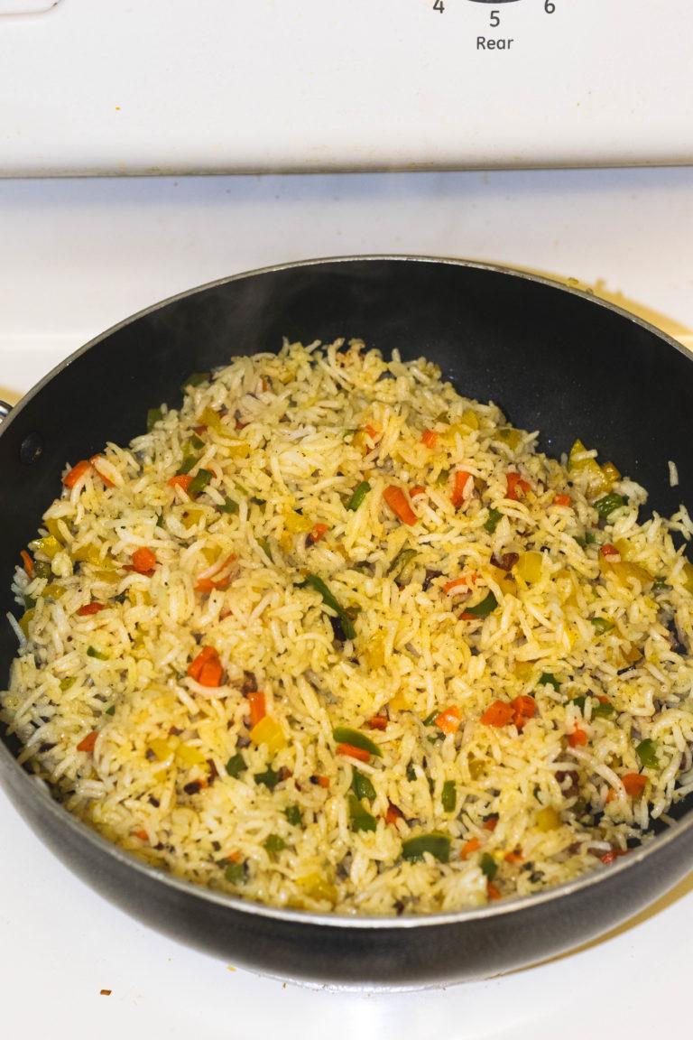 burnt garlic veg fried rice-12