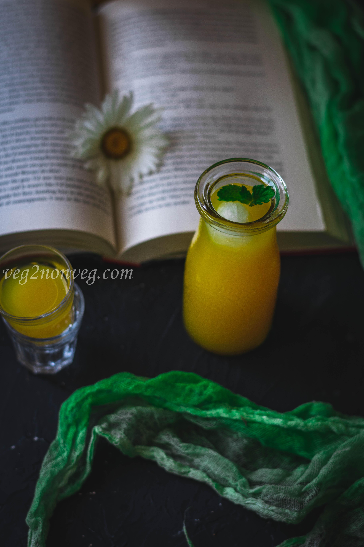 Mango Ginger Limeade