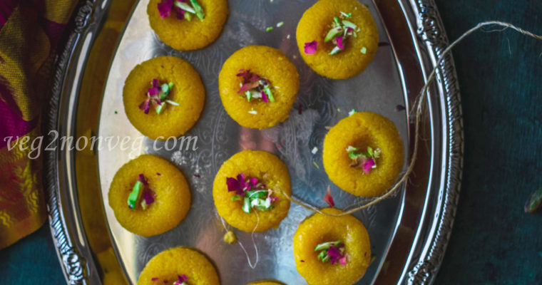 Mango Coconut Peda (Easy Indian sweet Recipe)