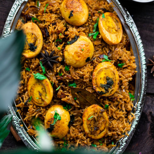 Chettinad, egg biryani