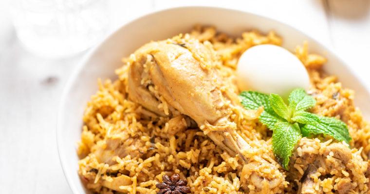 Chettinad Chicken Biryani Recipe